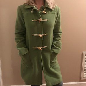Green Moda International Long Pea Coat NOWT - S